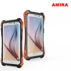 AMIRA Shockproof Dirtproof Armor Metal Case Cover for Samsung Galaxy S6 Edge