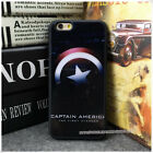 CAPTAIN AMERICA I phone 5/ 5S I Phone 6 Plus case Covers Skins Black