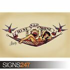 SAILOR JERRY TATTOO (1032) Photo Picture Poster Print Art A0 A1 A2 A3 A4