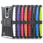 AG Rugged Hybrid Armor Case Phone Cover for LG Volt 2 (LS751) / LG Magna