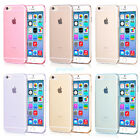 For iPhone 6 6 Plus 5 5s Ultra Thin Transparent Clear TPU Soft Back Case Cover