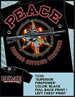 7.62 DESIGNS 'Peace Through Superior Firepower'  T220 T SHIRT 2X-Large
