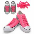 Coolnice PINK Anchor Type Silicon Fashion No Tie Slip On Shoe Laces 16 straps
