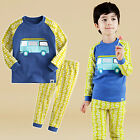 "NWT Vaenait Baby Infant Toddler Kids Boys Clothes Pajama Set ""Bzz bus"" 12M-7T"