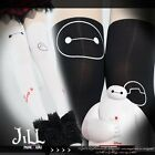 american cartoon fantasy Baymax robot superhero layered look pantyhose JMG7053