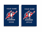 PERSONALIZED Washington Wizards Light Switch Covers NBA Basketball Home Decor on eBay