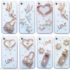 NEW BLING DELUX DIAMANTE SPARKLE HANDBAG CASE COVER 4 SAMSUNG iPHONE SONY HTC UK