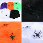 Simulation Spider web Spider cotton Halloween Party Bar Decoration Tricky Props