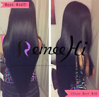 Lucy silky 100% humam hair straight  full/front lace wig baby hair baby hair