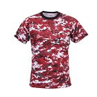 T-Shirt Digital Camouflage Camo  Rothco Military Style