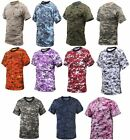 T-Shirt Digital Camouflage Camo  Rothco Military Style image