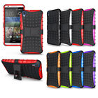 Hybrid Impact Armor Rugged Hard Case Stand Cover For HTC desire 820