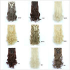 Clip in Hair Extension 12pcs/Set Heat Resistant Synthetic Hair Clip on Hairpiece