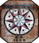 BARN HEX SIGN ~ 1856 ~ Handcrafted Custom Made Wood Sign w/ Your Name ~ by PLD