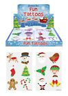 Christmas Party Kids Temporary Tattoos Stocking Filler Gift Favour Party Bag