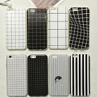 Newly Ultra-thin Slim Concise Grid Case Cover TPU For Apple iPhone 5/5S 6/6 Plus