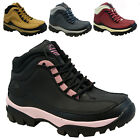 LADIES GROUNDWORK LEATHER SAFETY WORK BOOTS STEEL TOE CAP SHOES TRAINER HIKER