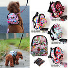 Super Cute Fashion Pet Bag Backpack Travel Carrier For Dog Puppy Cats With Leash