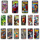 DC Marvel comic book cover case for Apple iPhone - G2
