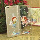Transparent Lovers Sweetheart Soft Cover Case For iPhone 6 Plus / 6S Plus