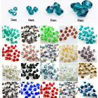 Wholesale Glass Crystal Bicone Loose Spacer Beads 4mm/6mm/8mm Free Shipping