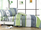 Serene Bedding Set: Duvet Cover Set/Heavy Weight Comforter or Both Queen/King
