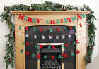 2m 10x Christmas Decoration Wall Hanging Banner Bunting Garland Fireplace Door