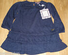 Barbara Farber baby girl dress wool 6-9, 9-12 m 74, 80 cm  BNWT designer blue
