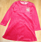 Room Seven girl red velour winter dress NANJA  5-6 y  116 cm BNWT designer