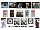 Halloween Party Decorations Door Window Toilet Grabbers Ceiling