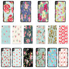 Vintage Floral Pattern cover case for Sony Xperia Phone - G25