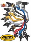 Triumph Daytona 675R Speed Triple / R PAZZO RACING Lever Set ANY Color & Length