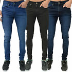 Mens Designer Criminal Justice Jeans Super Stretch Skinny Fit Spray On Denim