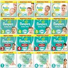 Pampers New Baby Nappies Monthly Pack Size 0 1 2 3 4 5 6 Mega Box Saving Pack