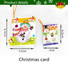 10Pcs Hot New Christmas Festival Christmas Tree Decorations Ornaments Wish Card