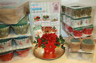 Wet Fresh Flower Oasis Floral Foam Christmas Cupcakes Table Centerpiece