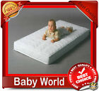 BABY COT OR COT BED MATTRESS HUB FOAM COCONUT BUCKWHEAT SPRUNG BEST VALUE
