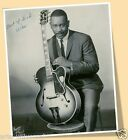 WES MONTGOMERY - PRINT POSTER SIZE -  AUTOGRAPH REPRODUCTION JAZZ MUSIC