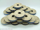 Blue Denim Style Ribbon Reels - 2M Long x 12mm Wide - Choice of 18 Variations
