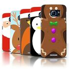 STUFF4 Phone Case/Back Cover for Samsung Galaxy S6/G920 /Christmas Character
