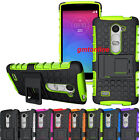 Hybrid Shockproof Impact Armor Rugged Hard Case Stand Cover For LG Phone