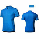 SPAKCT Cycling Jersey - Star Breathable anti-sweat Bicycle Short Sleeves Blue