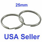 Stainless Steel Key Rings 25mm Split Ring jump ring WHOLESALE LOT