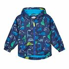 Bluezoo Kids Boys' Navy Dinosaur Print Fleece Rain Coat From Debenhams