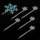 A13 - Frozen Princess Snow Queen Elsa Long Braid Adult Wig / SnowFlake Hairpins1