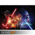 STAR WARS THE FORCE AWAKENS (1047) Picture Poster Print Art A0 A1 A2 A3 A4 £16.95 GBP