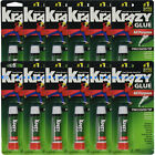 12 Packs Krazy Glue Instant strong Glue crazy fast Tube All Purpose 0.07oz NEW