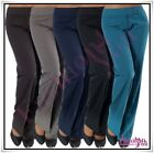 Sexy Women's Office Pants Ladies Classic Casual Trousers Size 6,8,10,12,14,16 UK