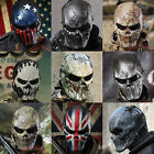 Paintball Full Face Protection War Game Outdoor Tactical Gear Gothic Skull Masks