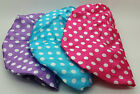 BATH & BODY POLKA ONE SIZE FASHIONABLE SHOWER CAP DOUBLE LINING IDEAL GIFT